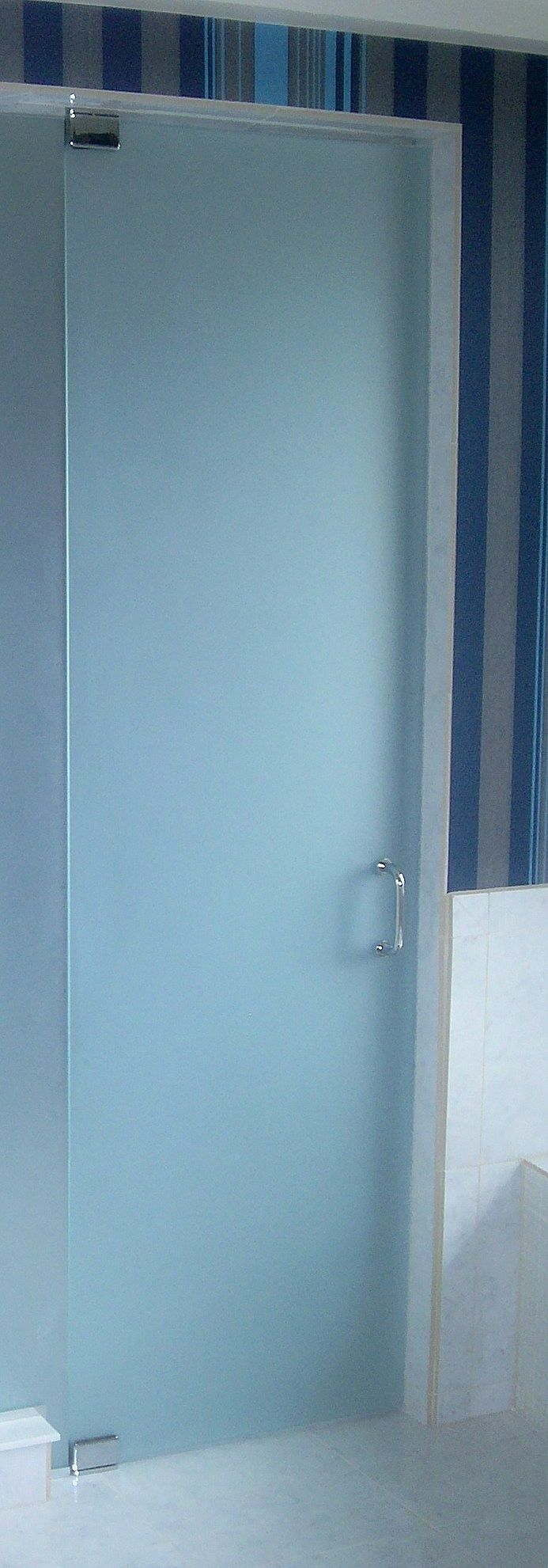 frameless shower enclosure door with satin glass fabricated u0026 installed by rex glass u0026