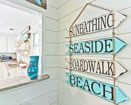 Get your Beach Arrow Sign... http://www.beachblissdesigns.com/2017/01/beach-arrow-signs.html Will make you feel like the beach is just a few steps away!