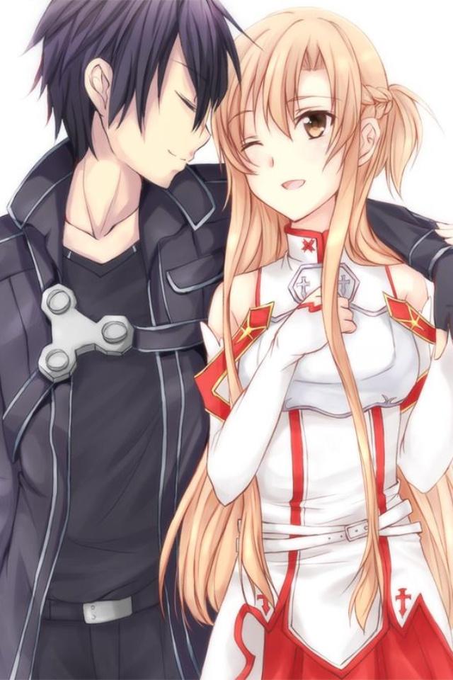 Asuna and Kirito <3