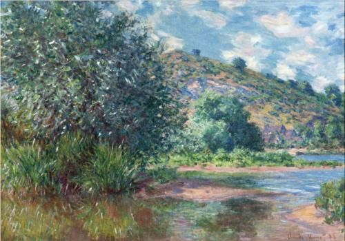 Landscape at Port-Villez - Claude Monet