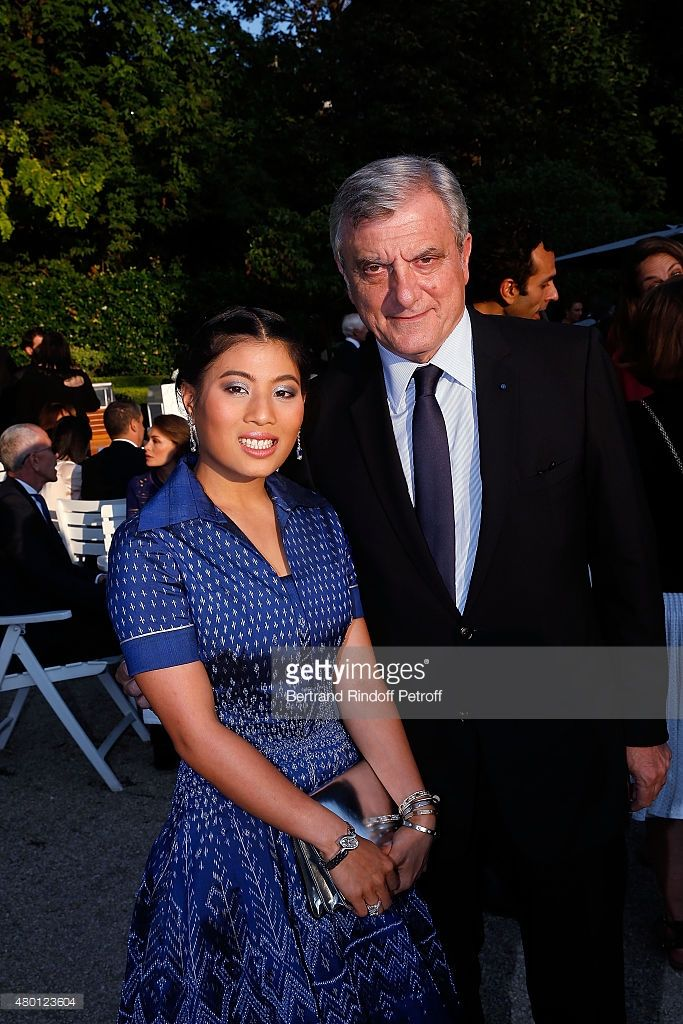 Princess Sirivannavari Nariratana of Thailand and CEO DIOR Couture Sidney Toledano attend the Federation Francaise De La Couture Closing Party as part of Paris Fashion Week Haute Couture Fall/Winter 2015/2016 on July 9, 2015 in Paris, France.