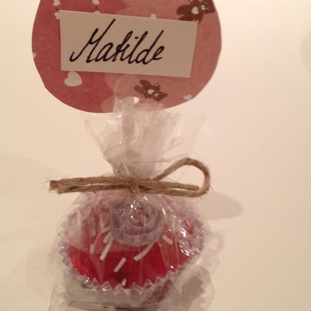 Cake pop Matildes dåp
