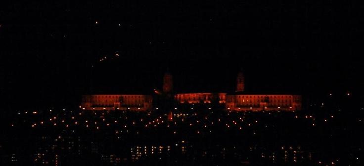 Union buildings at night- Pretoria, South Africa