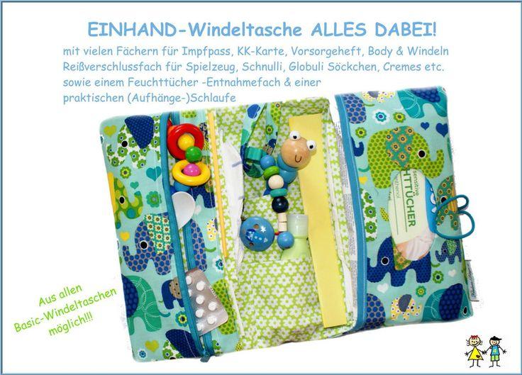 Windeltasche *ALLES DABEI* von Windeltaschen - Wickeltaschen  ♥ Handmade by Feludara-Design Wiesbaden auf DaWanda.com