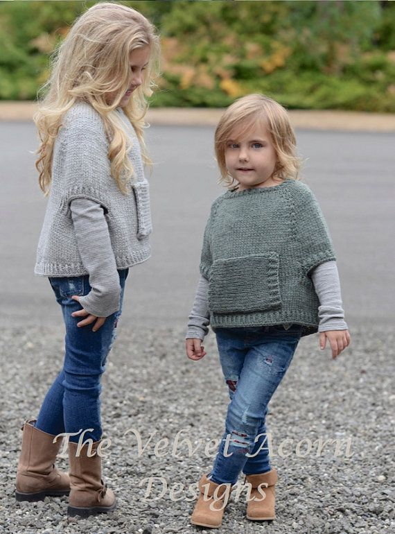 This listing is a PDF PATTERN ONLY for the Odila Cape Pullover  This pullover is…