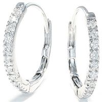 Diamantøreringer 0,40 carat | Delicato - Delicato Diamantøreringer 0,40ct tw/vs