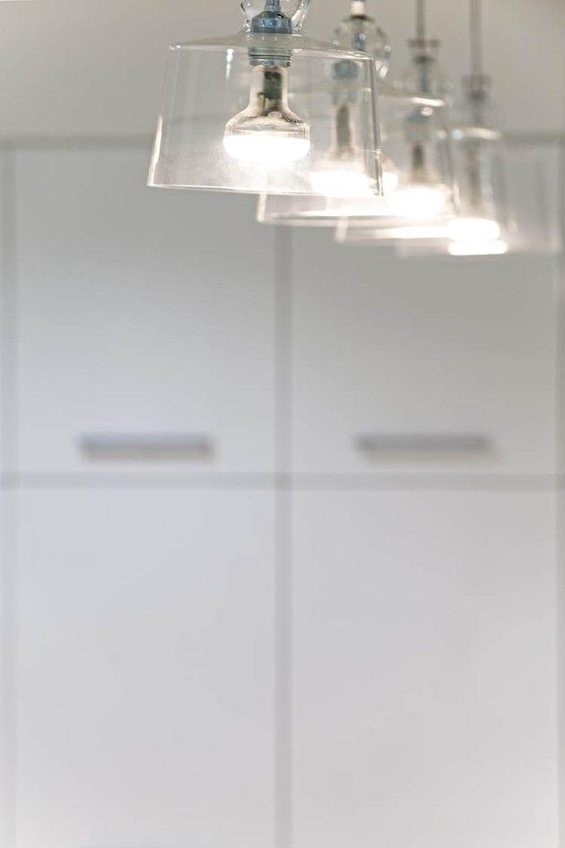 Blown glass pendant lamps from Produzione Privata
