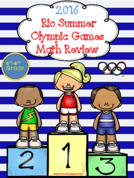 2016 Rio Summer Olympic Games Math Review