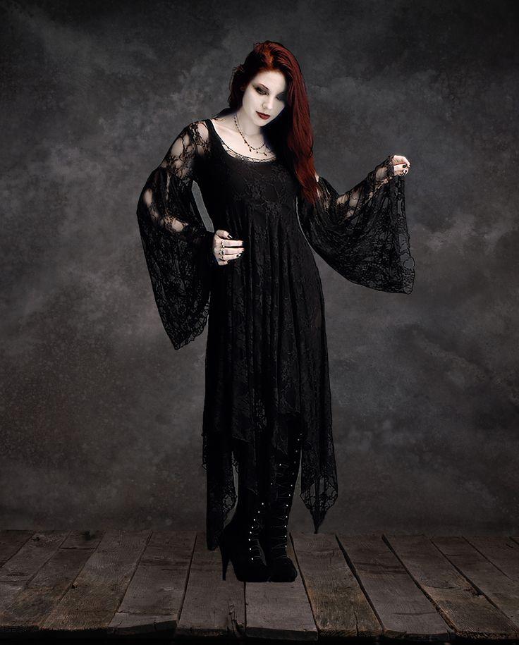 Phaedra Fairy Gothic Wedding Dress