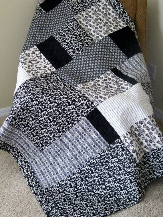17 Best Images About Black Amp White Quilts On Pinterest