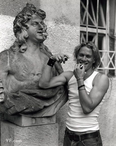 Heath Ledger by Bruce Weber. I still have this vanity fair somewhere.