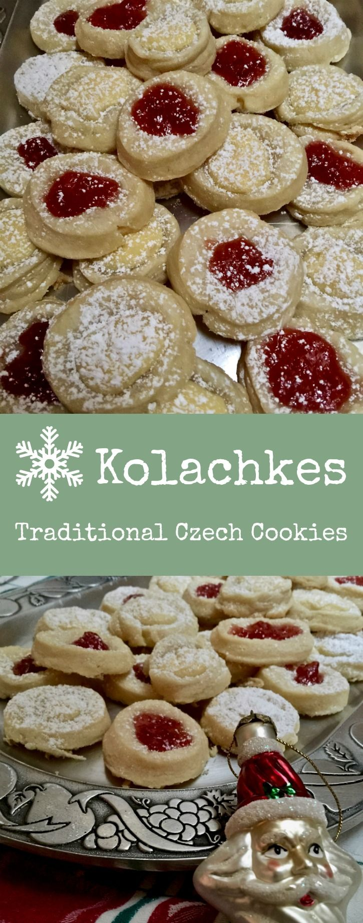 Traditional Czech pastries ~ favorite Christmas cookie