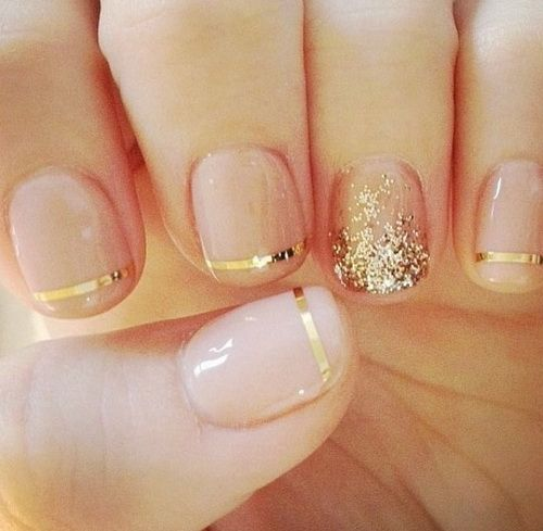 Click to see this amazing design!! Simple-Nail-Designs-For-Short-Nails
