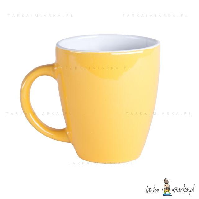 Kubek kolor 300 ml, żółty 5906900114685-ZOL