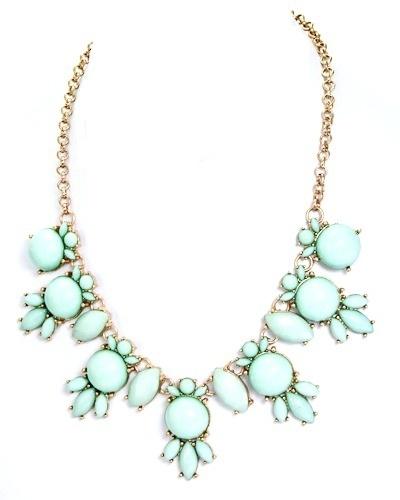 Mint Bubble Necklace