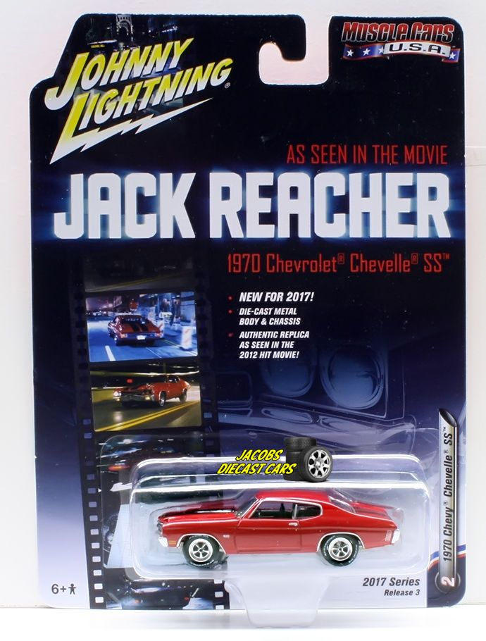 1:64  JOHNNY LIGHTNING 2017 MUSCLE CARS USA RELEASE 3A - 1970 CHEVY CHEVELLE SS #JohnnyLightning #Chevrolet