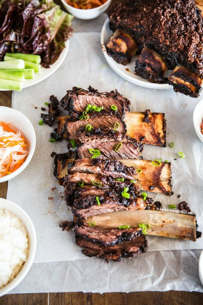 Korean BBQ Beef Ribs Slow Cooked In the Oven | MyKoreanKitchen.com