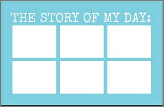 """The Story of My Day"" story mat"