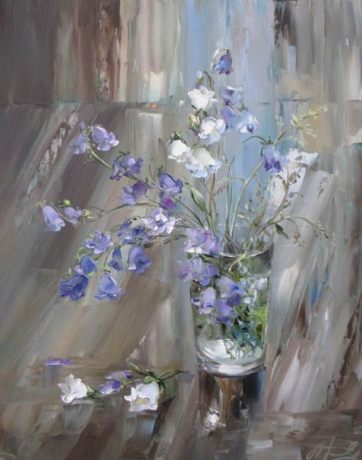 by Russian artist, Oksana Kravchenko (1971) Russia, Novouralsk