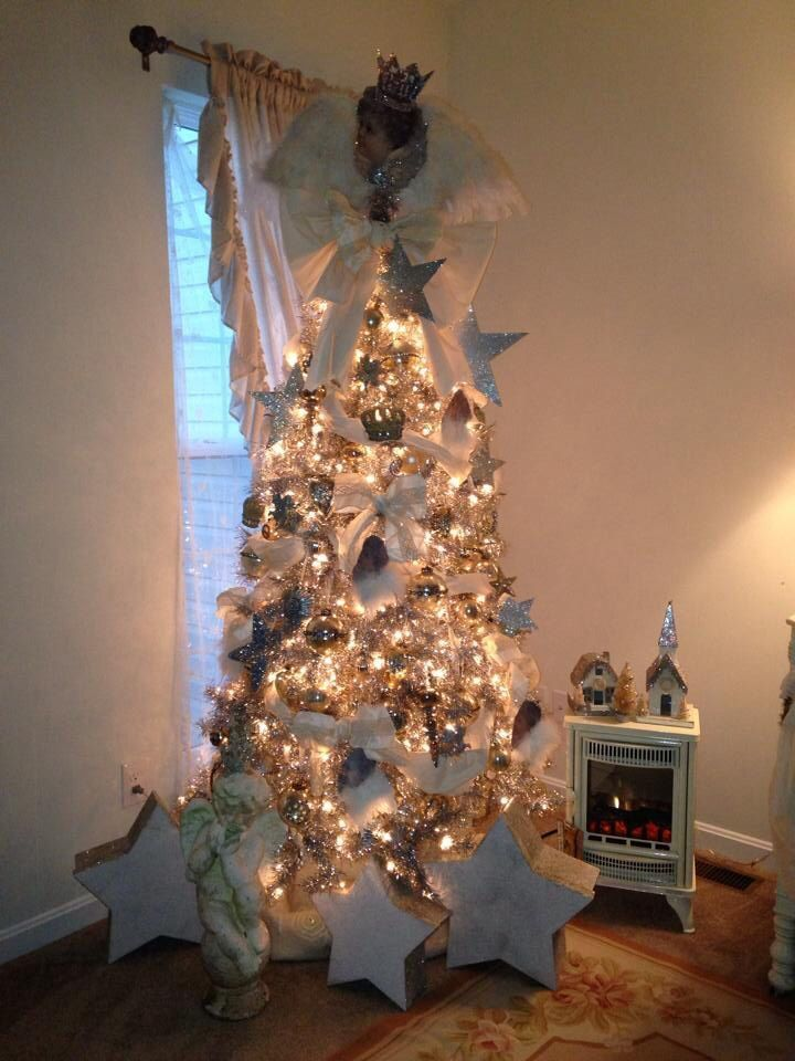 My heaven sent tree handmade topper and