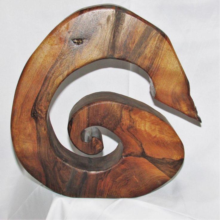 Jizai kagi hearth hook very unusual shape! Beautiful wood