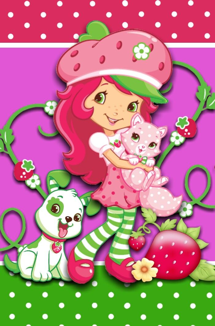 strawberry shortcake wallpapers for desktop wwwpixshark