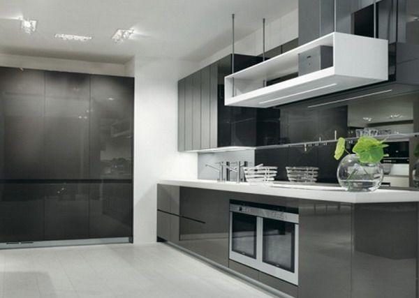 Alex's Kitchen Grey Cabinets