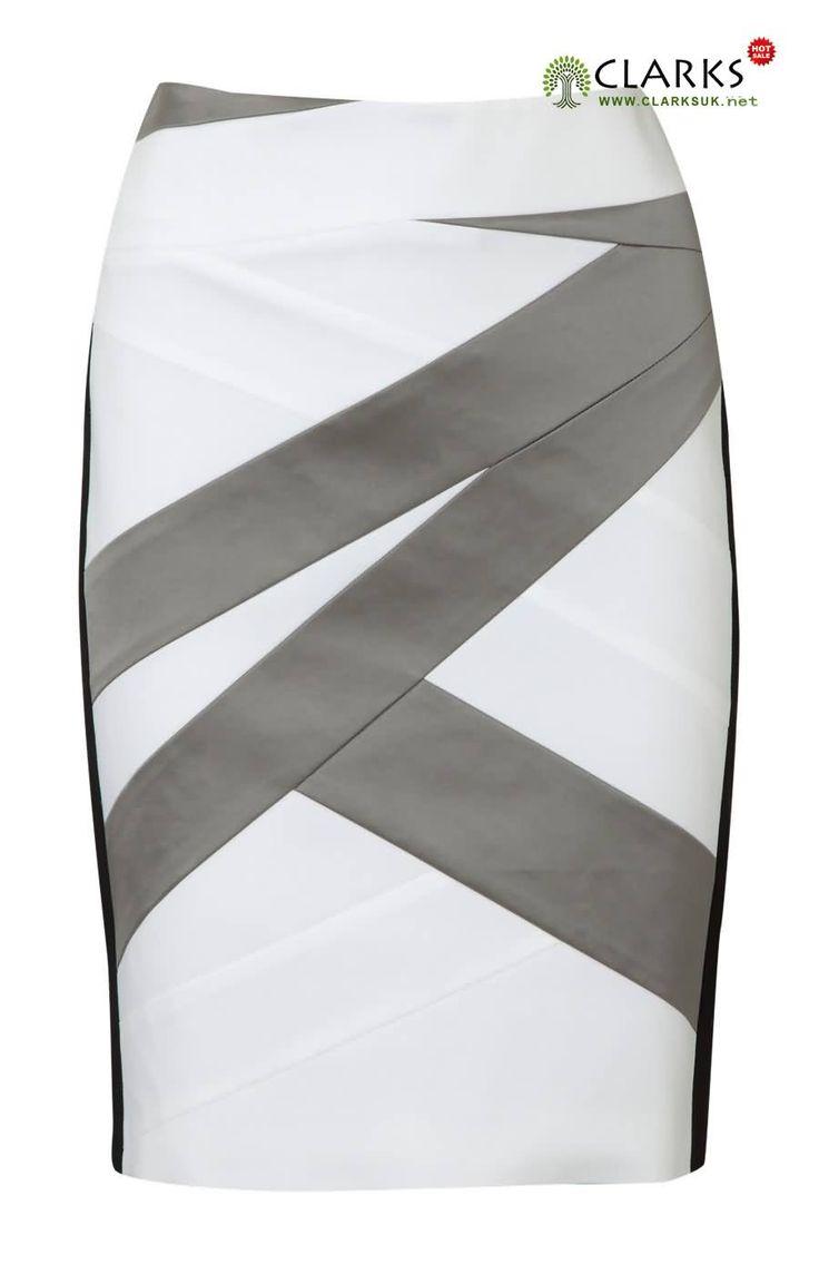 Karen Millen Signature Colourblock Skirt