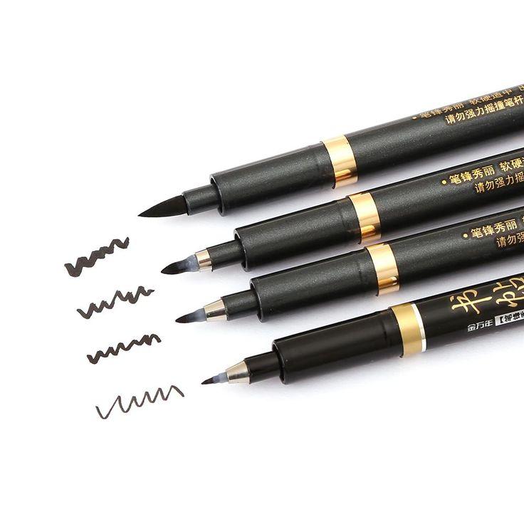 Multi Function Calligraphy Pen Set - 4 Piece