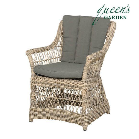 Antik Sessel Fur Terrasse Garten Von Queens Garden Geflecht Alu Romantisch Allegro Sessel Gartensessel Antike Sessel Sessel