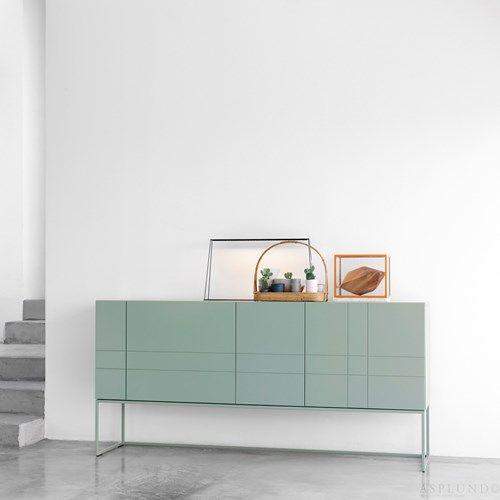 Kilt light förvaring med dörrar och lådor - Kilt light förvaring med dörrar och lådor - nordic blue, 137 cm