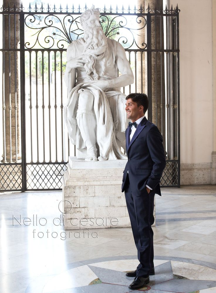 The #groom awaits the #bride!  #nellodicesarephotographer #wedding #Italy #Naples