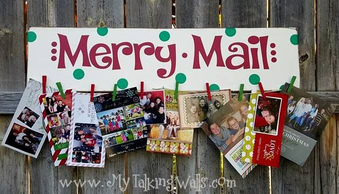 Christmas Crafts  Merry mail