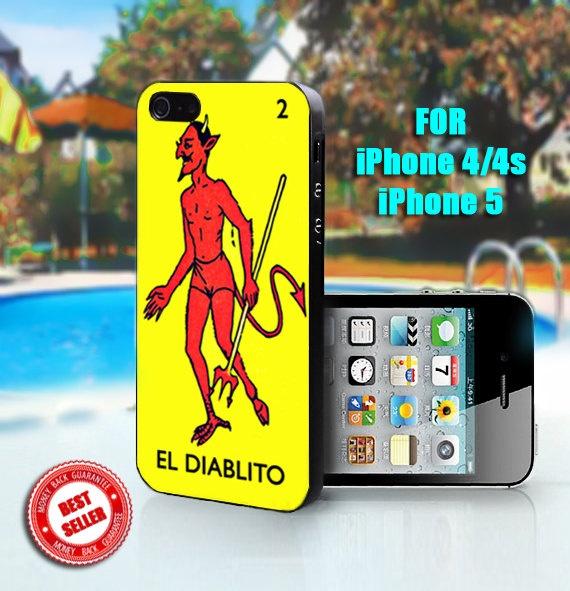 Loteria El Diablito - Print on Hard Case