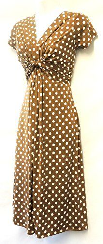 New Ladies Deco Polka Dot Vtg Retro WW2 Land girl 1940s/50s Pin-up Tea Dress Viva-la-Rosa http://www.amazon.co.uk/dp/B00NQ9VPG0/ref=cm_sw_r_pi_dp_8-Wjub12FT7WE