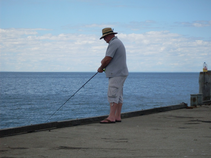Fishing at Ardrossan S.Aust.