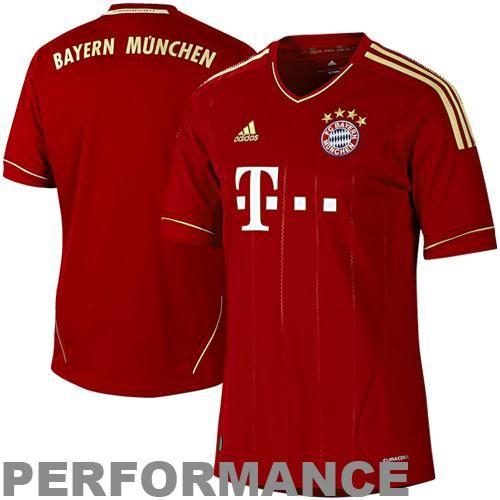 adidas Bayern Munich FC 201213 Home Performance Jersey Red - See more at: http://dasportsfanshop.blogspot.com/#sthash.paXIr6Dw.dpuf -- DaSports Fans Shop