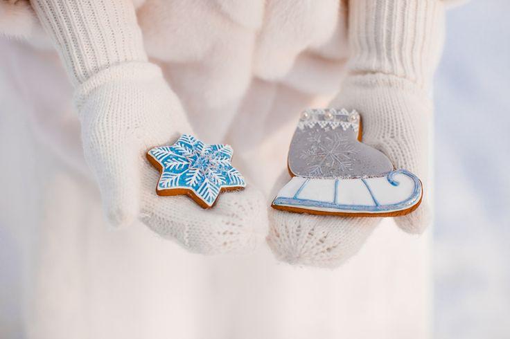 Оформление фотосессий и прогулок   Свадьбы зимой   Свадьбы в голубом цвете   55 Фото идеи