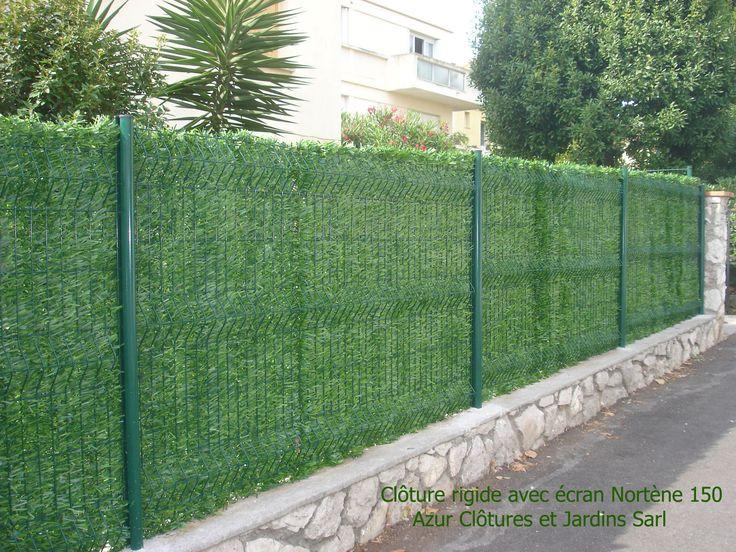 Cloture jardin grille pinterest for Cloture amovible jardin