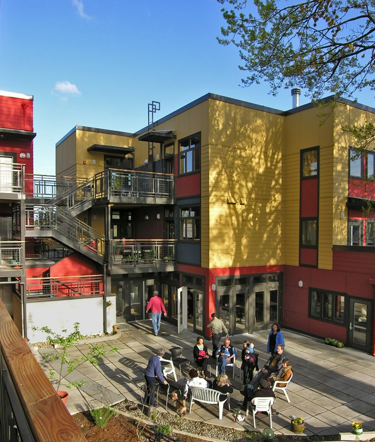 17 best co housing images on pinterest architecture little houses and small homes for Living room realty portland or