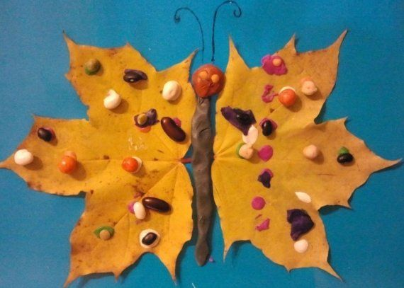 Autumn Craft Ideas for Kids. Learn Craftmaking from Autumn Leaves
