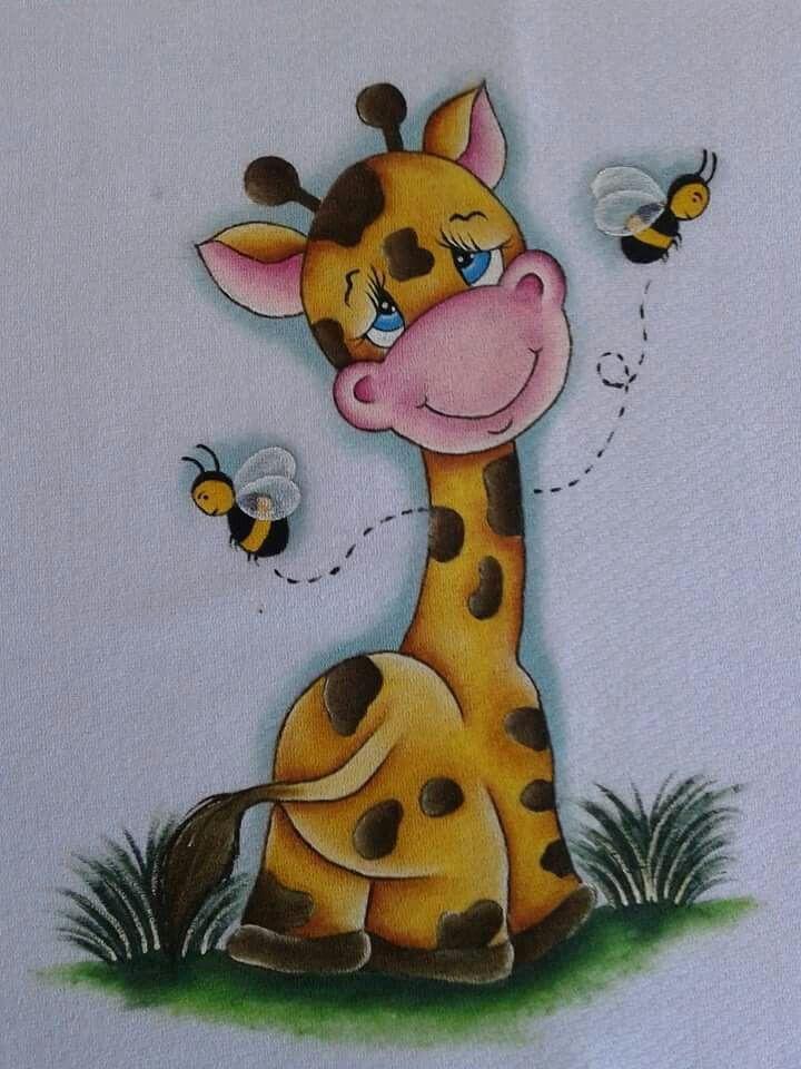9ec0eb8fd5 Pintura em Fraldas de Bebê  50 Ideias Incríveis - Artesanato Passo a Passo!
