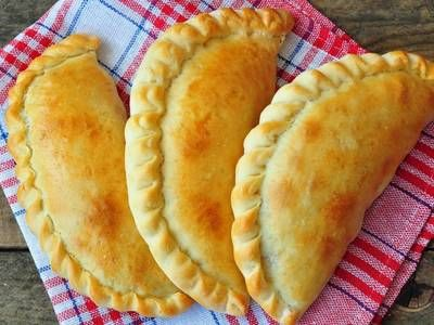 Empanadas Filled With Chicken Picadillo Recipe — Dishmaps