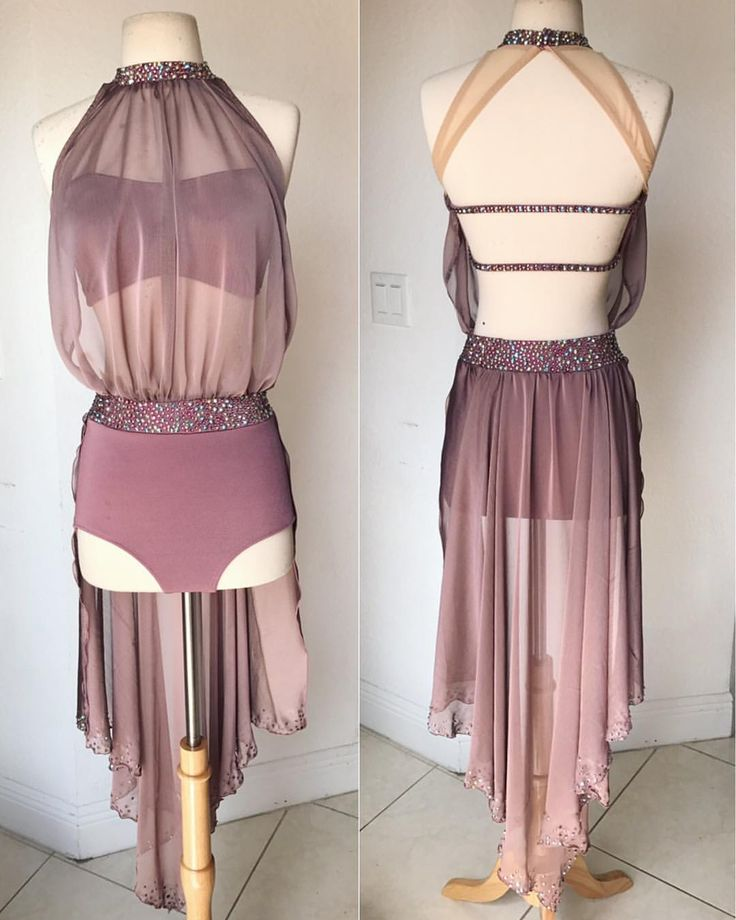 In love with this one for our beauty, Miss Delaney Holmes  this mauve color is so delicious! #todieforcostumes #BLDesigns