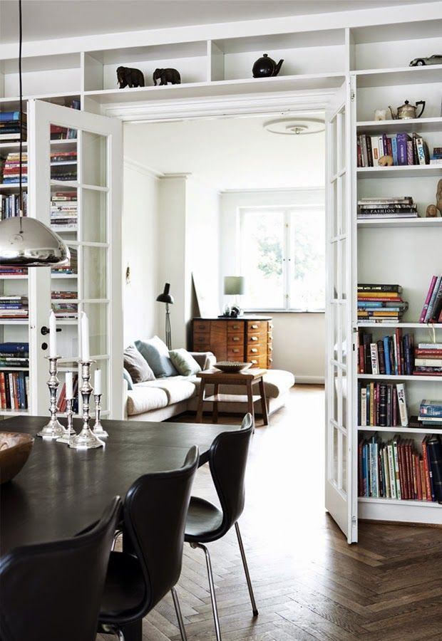 Simple and Whimsical Danish Townhouse