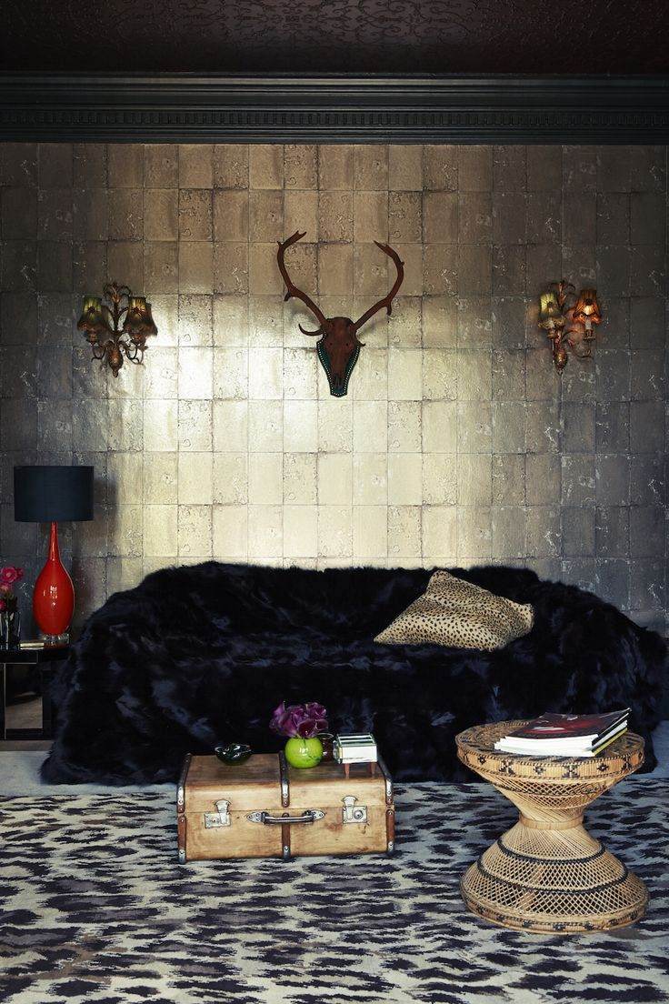 Moody Lustre: Dark Shades with Metallic Accents | Mirrored ...