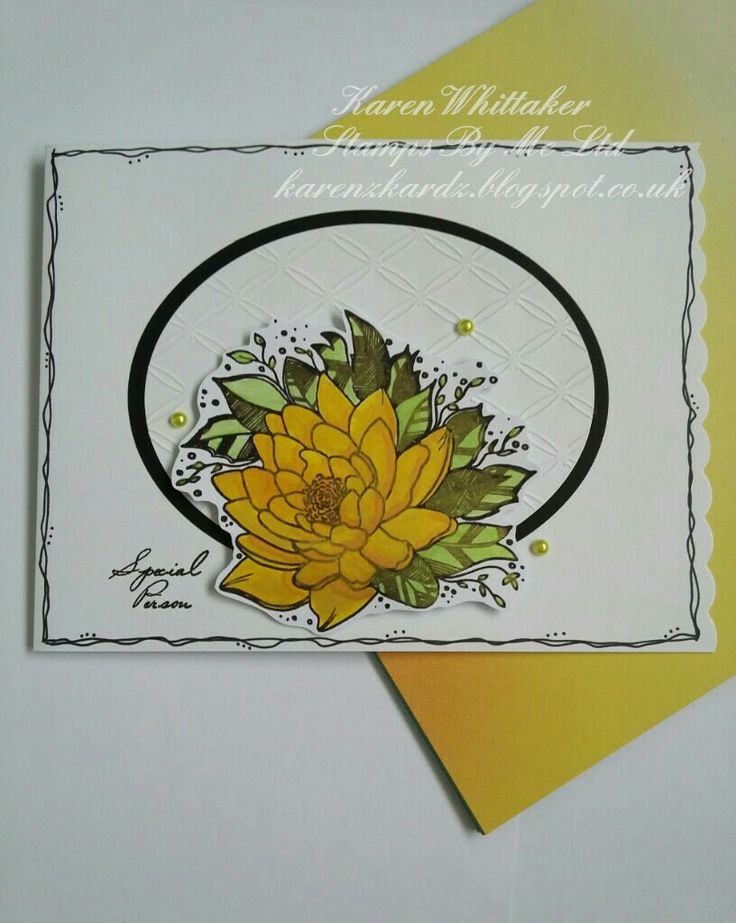 Stamps By Me Flowers For You #stampsbyme #flowersforyou #flowers #dtsample #zentangle #dynapaints #stamping #stamps #cardmaking #handmade #craft #cards #creative