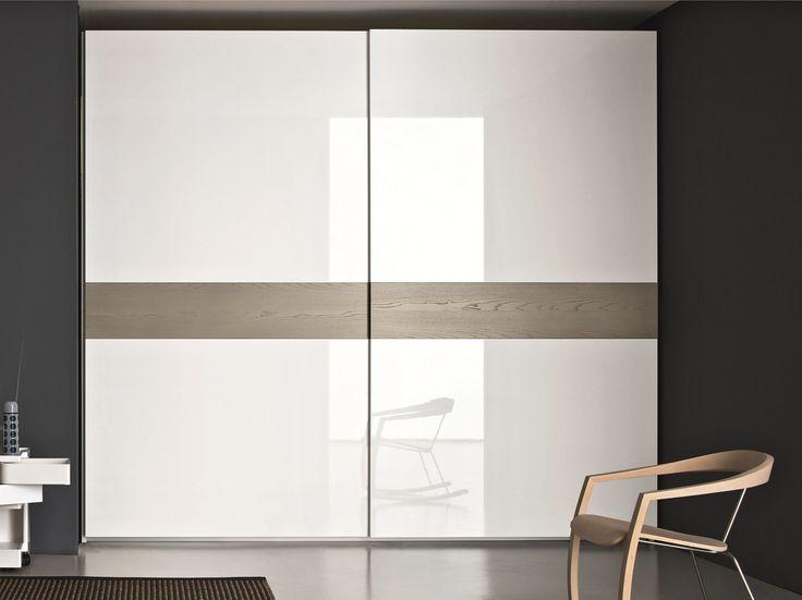 Armario lacado de fresno con puertas correderas STAR by SMA Mobili