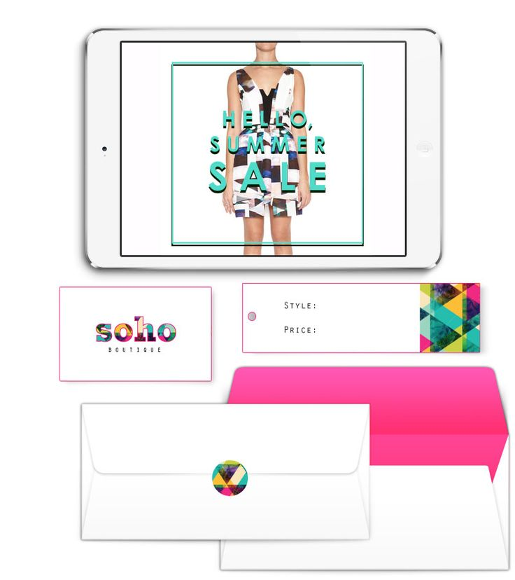 Soho Boutique Branding