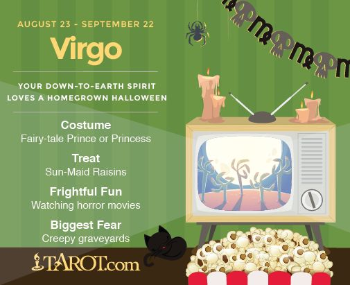 Happy Halloween Virgo!